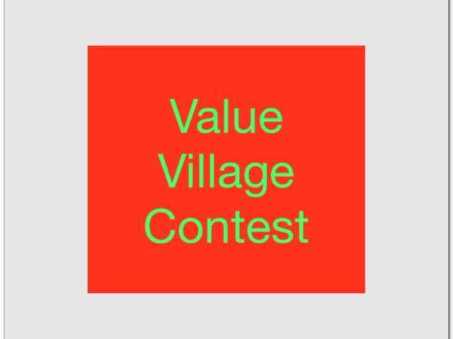Value Village contest