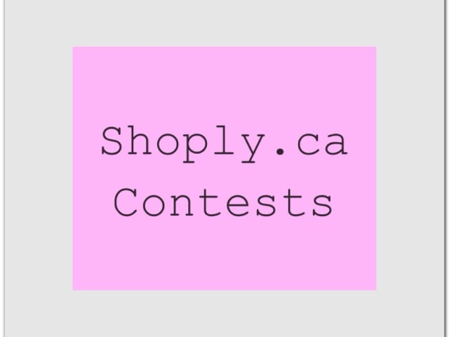 Shoply contest(s)