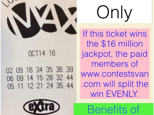 Lotto Max Oct 14th