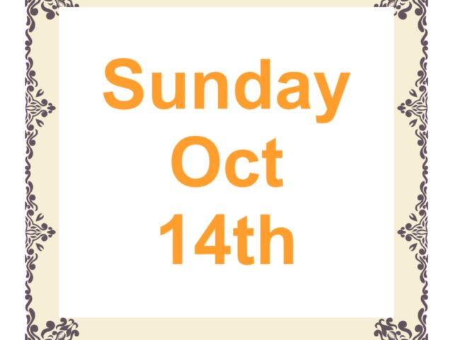 Protected: Sunday Oct 14th
