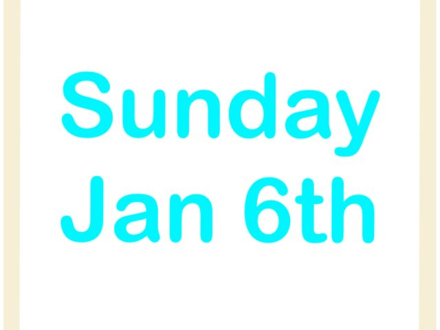 Protected: Sunday Jan 6th