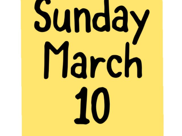 Protected: Sunday March 10