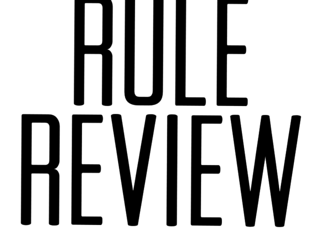 Rule Review
