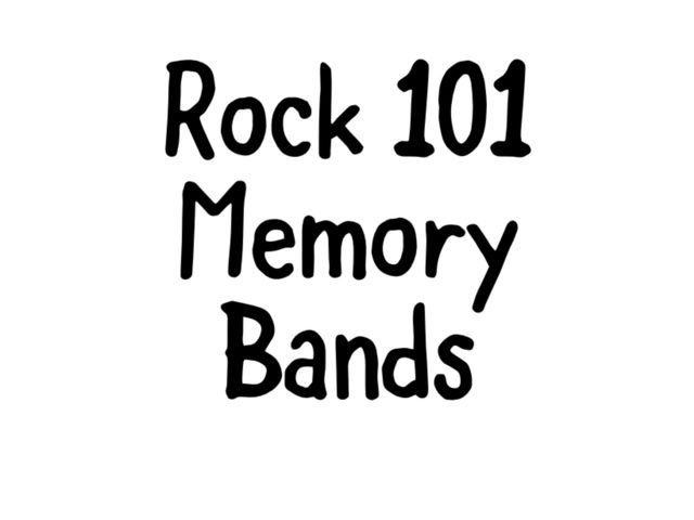 Protected: Rock 101 Bands